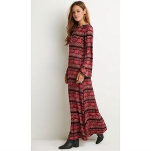 🆓BUY2 GET1 FREE Boho maxi dress
